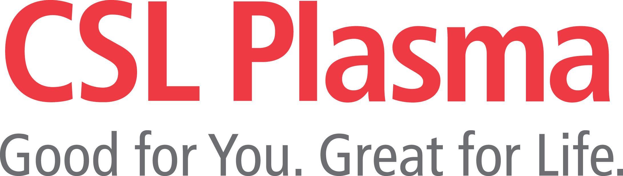 CSL Plasma Logo with Tagline - JPG